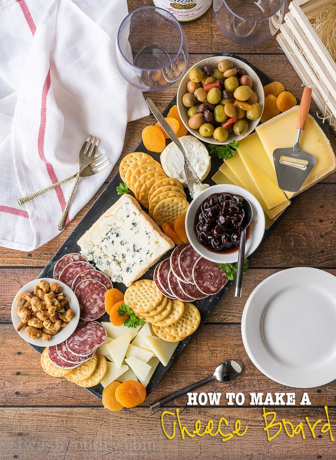 How To Make A Cheese Board I Wash You Dry