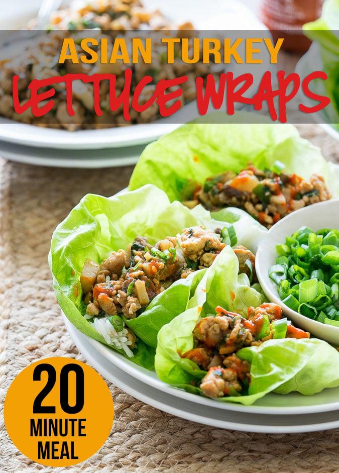 healthy lettuce wraps turkey