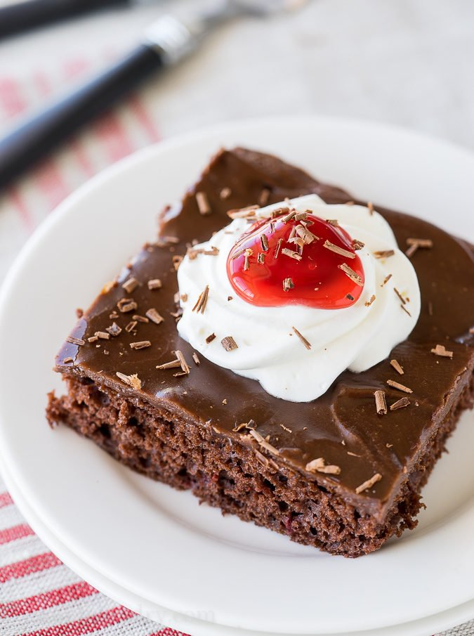 Best Texas Chocolate Cake Recipe
