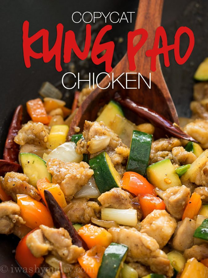Copycat Kung Pao Chicken Recipe