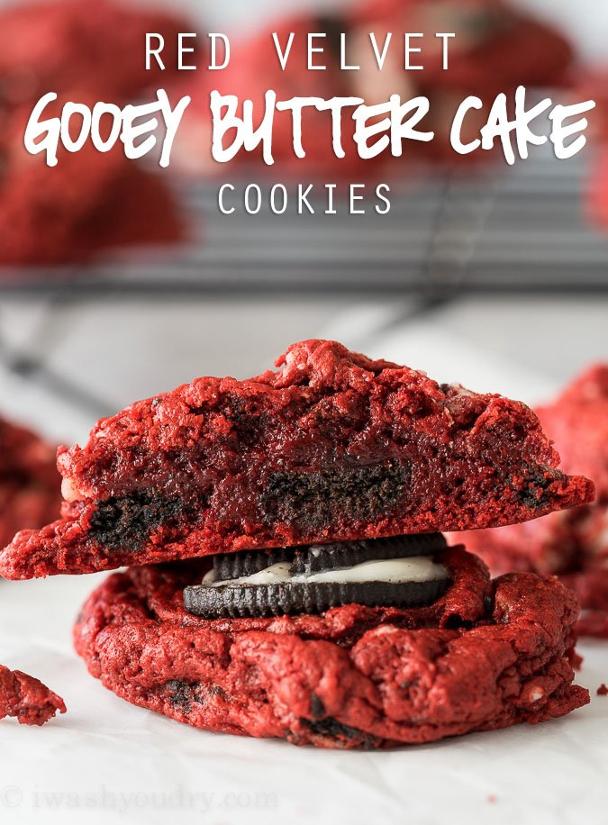 Making Red Velvet Cookies From Cake Mix