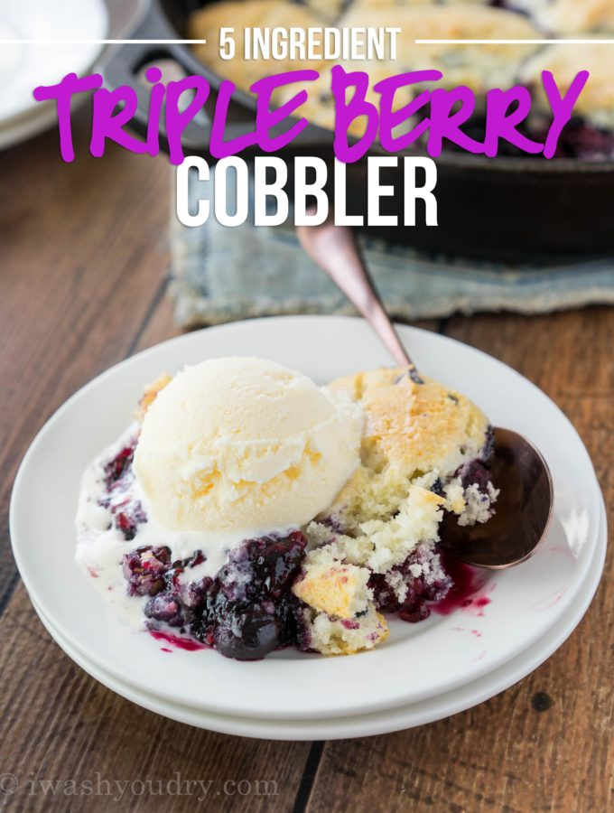 Triple Berry Cobbler (CMA Music Fest Giveaway)