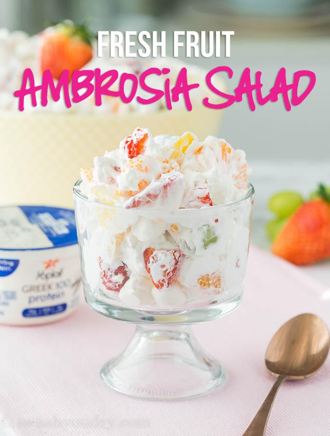 Ambrosia Fresh Fruit Salad