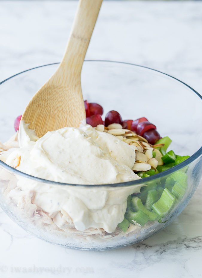 Super simple Chicken Salad Dressing ingredients