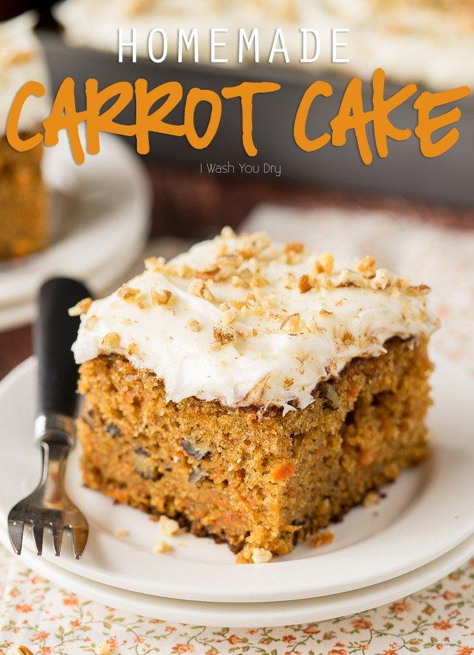 Gooey Carrot Cake
