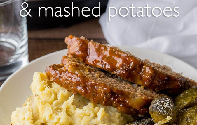 Holy Cow! This Instant Pot Meatloaf Mashed Potatoes is a whole meal made in one pressure cooker! My family loved this one and even my picky eater asked for seconds!