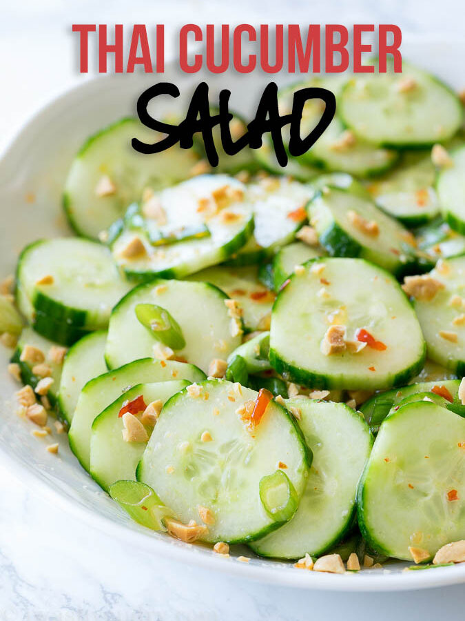 Crunchy Thai Cucumber Salad