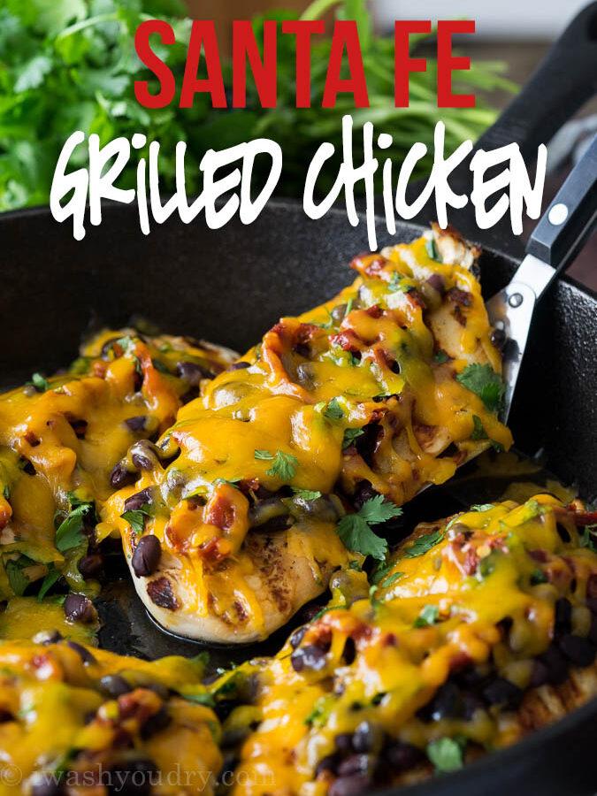 Zesty Grilled Santa Fe Chicken