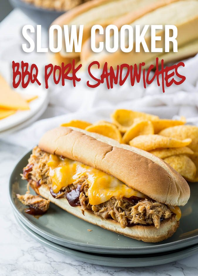My whole family loved this Slow Cooker Pulled Pork! We eat it on sandwiches, over salads and even as tacos!