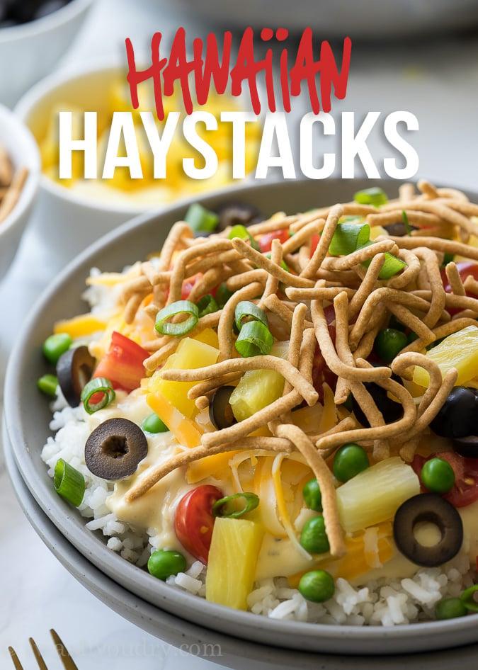 Quick Easy Hawaiian Haystacks I Wash You Dry