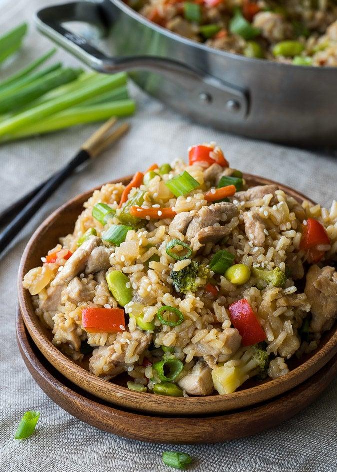 how to make chicken teriyaki rice