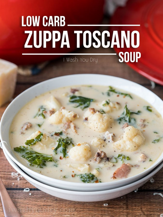 Low Carb Zuppa Toscano Soup I Wash You Dry