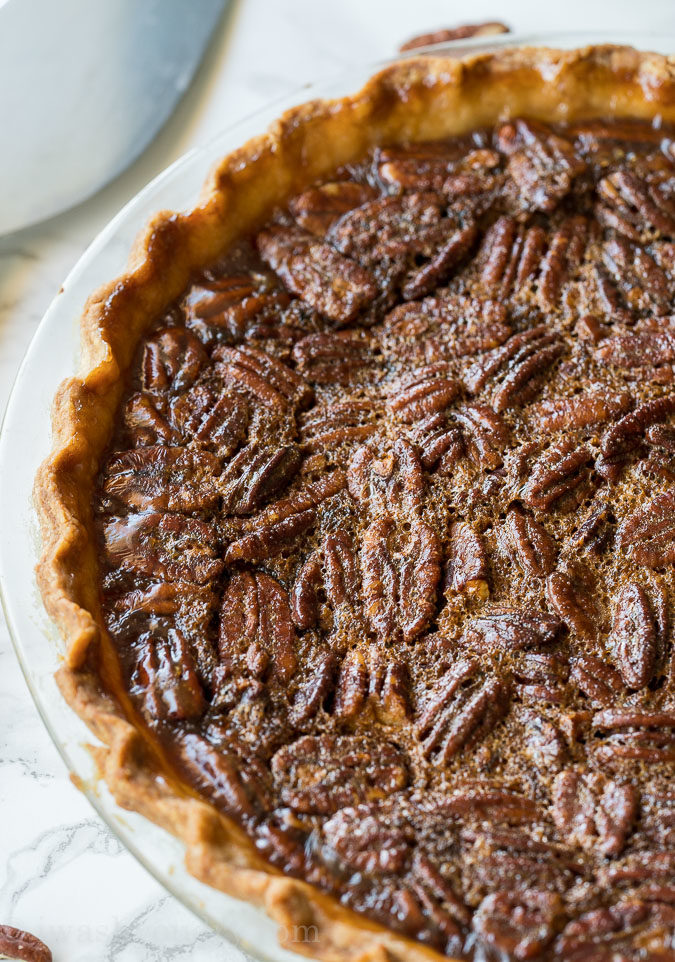 "This is the easiest ""How To Make Pecan Pie"" recipe I've ever made!"
