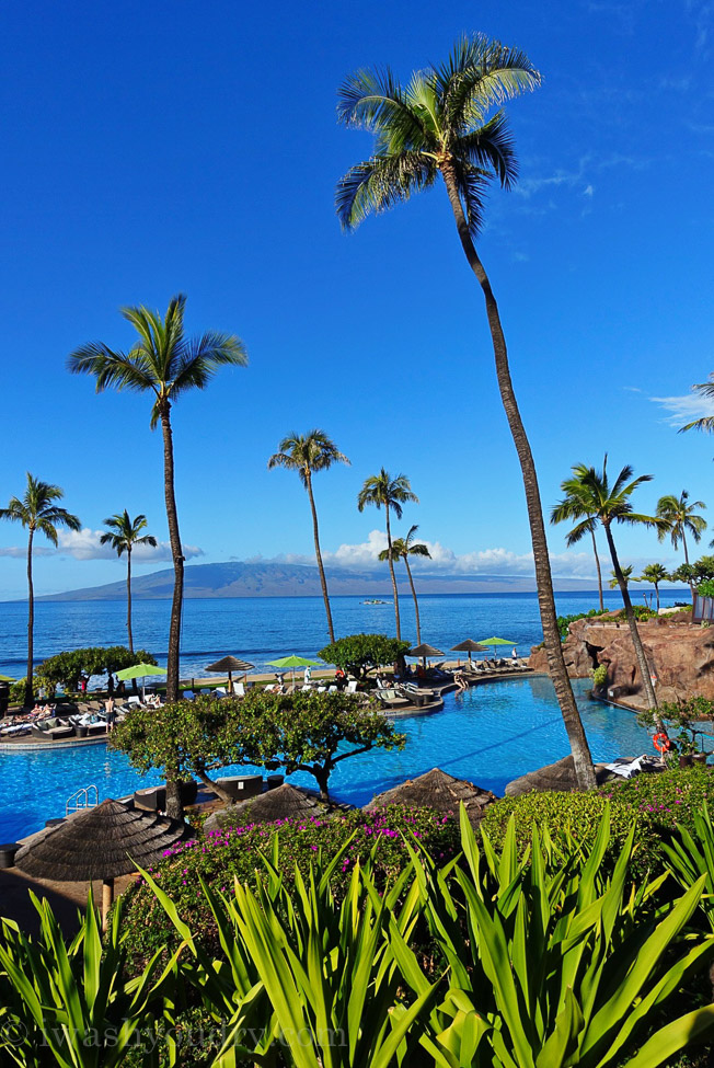 The Hyatt Regency Maui is located in Lahaina and is a super family friendly resort!
