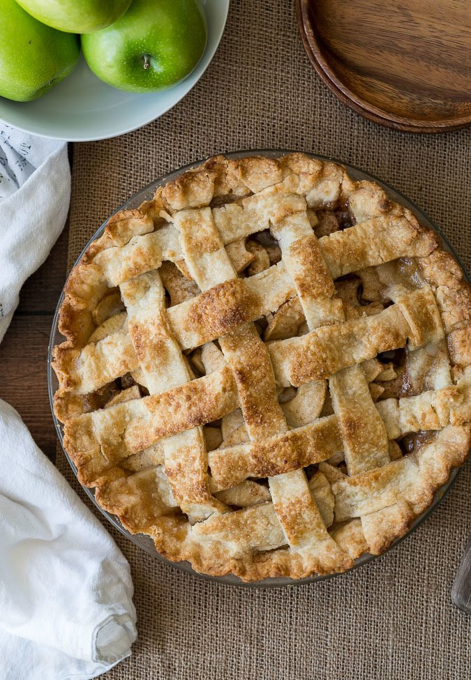 WOW! This Homemade Apple Pie Recipe was a winner! So easy and that filling was to die for!