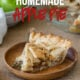 This is the easiest Homemade Apple Pie Recipe! My whole family LOVED it!