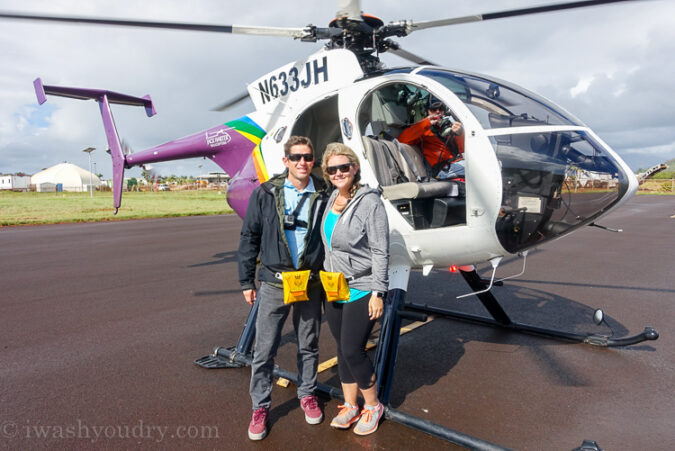 Jack Harter Helicopter Tours in Kauai, Hawaii