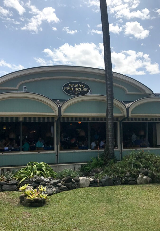 Mama's Fish House in Maui Hawaii