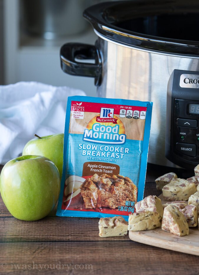 I'm obsessed with McCormick's new slow cooker breakfast spice blends! They make cooking up breakfast for my family so much easier!