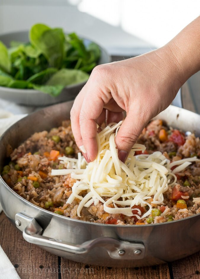 Italian Beef and Rice Skillet | I Wash You Dry
