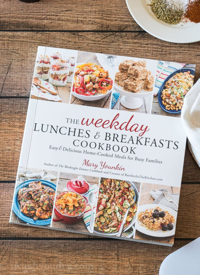 The Weeknight Lunches and Breakfasts Cookbook by Mary Younkin is perfect for quick and easy recipes!