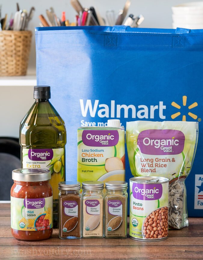 I love the new line of Great Value Organic products at Walmart!
