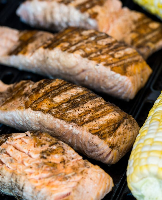 These are the BEST TIPS for Grilling Salmon! Perfect every time!