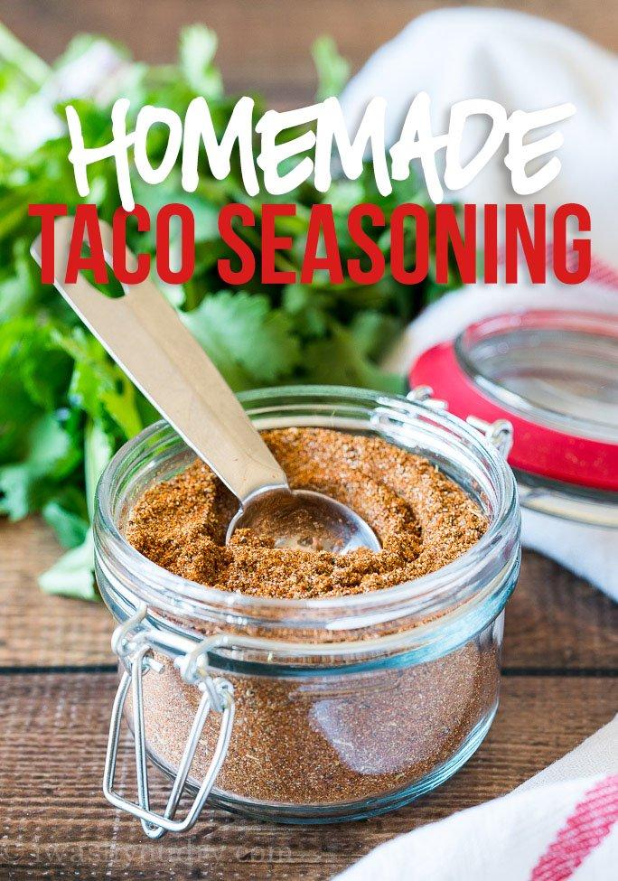 Easy Homemade Taco Seasoning Recipe I Wash You Dry