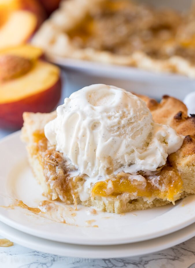 WOW! This Peach Slab Pie recipe is super quick to pull together and tastes like summer in each bite!