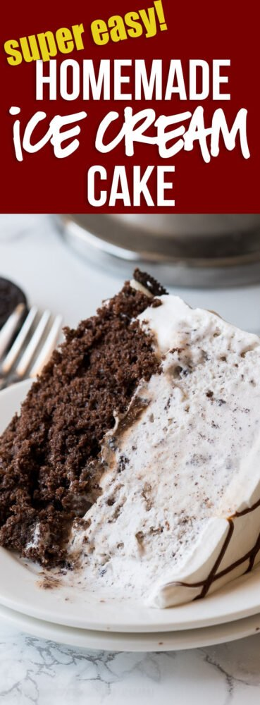 HOLY COW! This super easy Homemade Oreo Ice Cream Cake is so good! It's super easy to make and tastes just like a Dairy Queen cake, but a fraction of the cost!