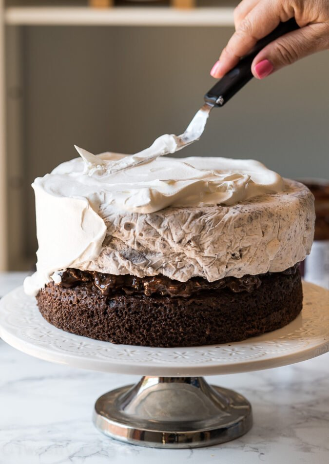 Whipped Ice Cream Cake Frosting