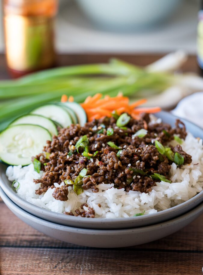 Easy Korean Ground Beef Recipe I Wash You Dry