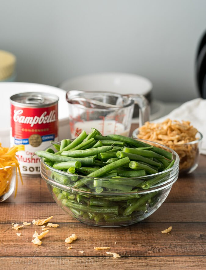 BEST Green Bean Casserole Recipe using fresh green beans