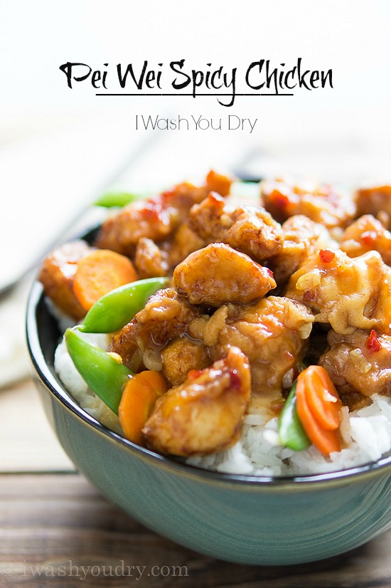 Pei Wei Spicy Chicken I Wash You Dry