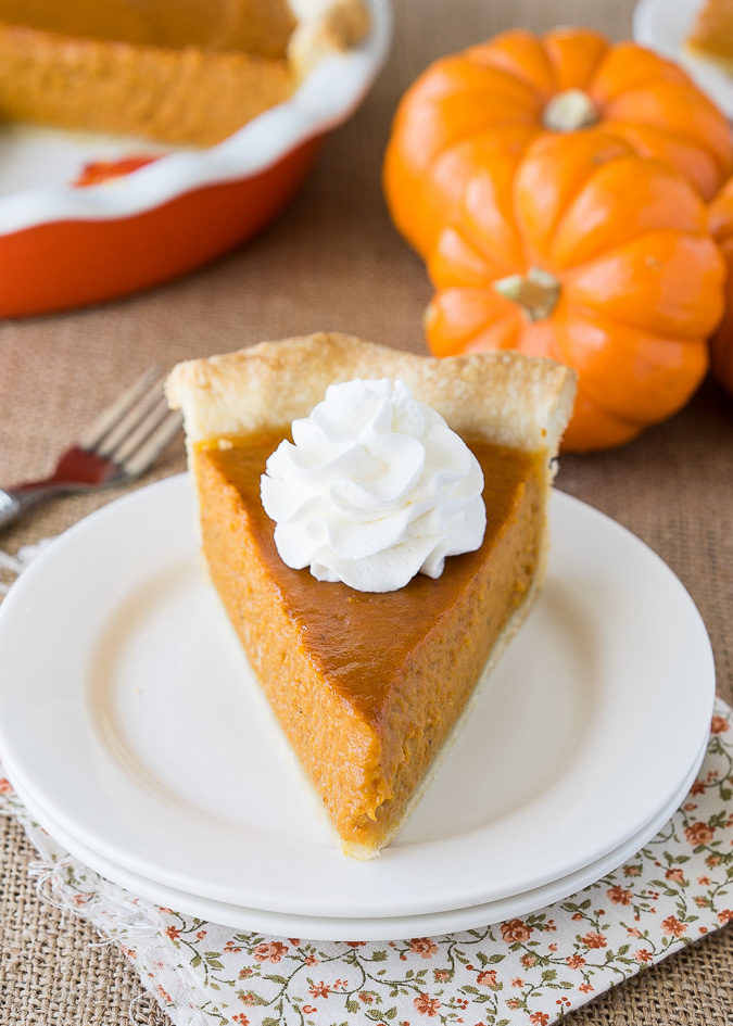 Super Easy Pumpkin Pie Recipe I Wash You Dry