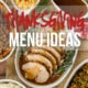 So many fantastic options to plan an epic holiday feast with these Thanksgiving Dinner Menu Ideas!
