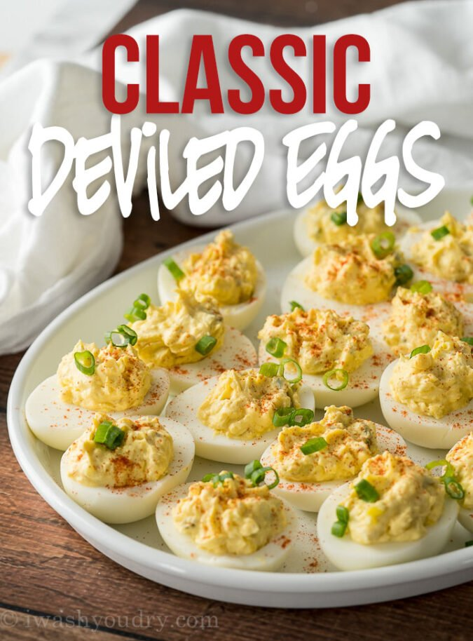 This is the BEST Deviled Egg Recipe is my go-to recipe for delicious deviled eggs! So easy and always a favorite!