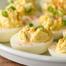 These Classic Deviled Eggs Recipe is a family favorite! So easy and always the first thing to go.