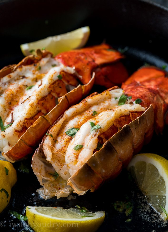Best way to cook lobster tails on the stove