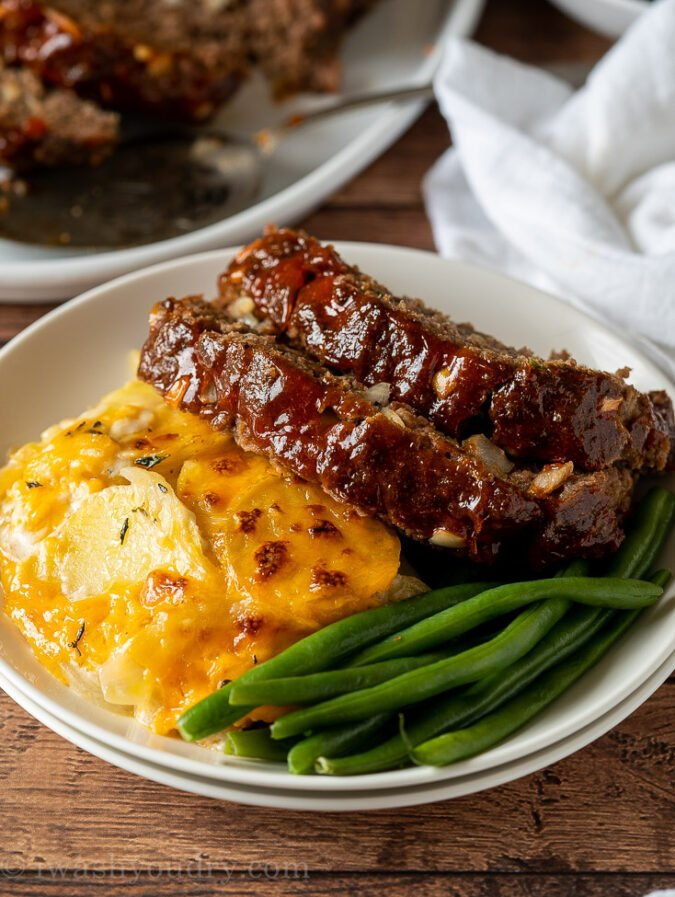 Quick and Easy Meatloaf Recipe for dinner is my family's favorite!