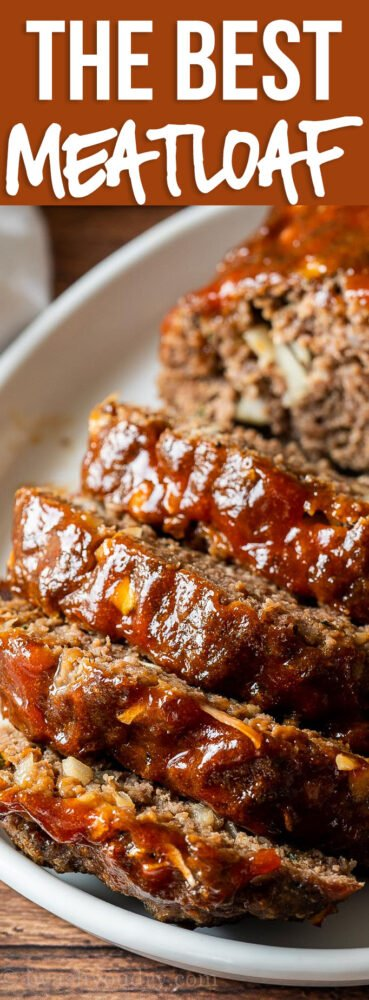 YUM! Quick and Easy Meatloaf Recipe for dinner is my family's favorite!