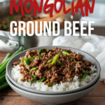 This super easy Mongolian Ground Beef Recipe is just like classic Mongolian Beef, except uses hamburger so it's ready in about 15 minutes!