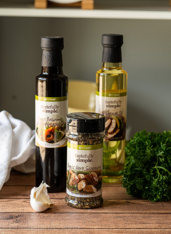 These Tastefully Simple ingredients are the perfect addition to any kitchen!