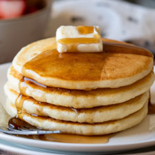 Warm and fluffy Classic Pancakes are a must make weekend breakfast!