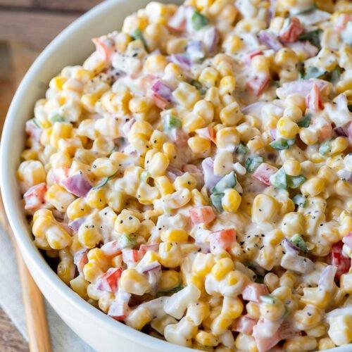 Corn Salad Recipe Frozen