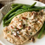Super easy Bacon Ranch Grilled Chicken Breasts Recipe!