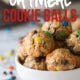 These No Bake Peanut Butter Oatmeal Cookie Balls are a quick and easy treat that are loaded with chocolate chips and m&m's!