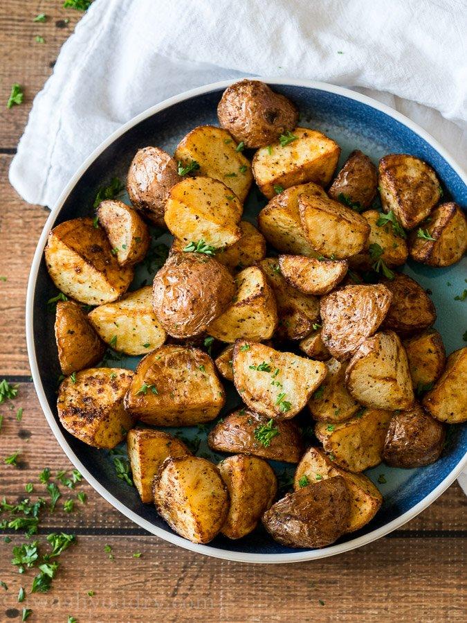 Easy Air Fryer Potatoes Recipe I Wash You Dry