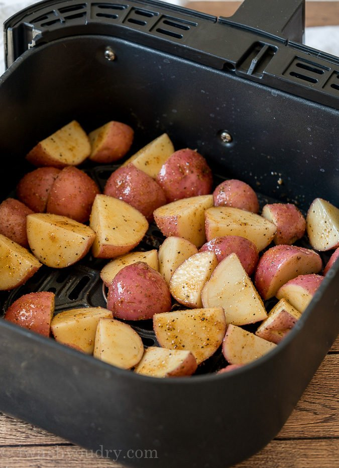 How To Make Potatoes in Air Fryer