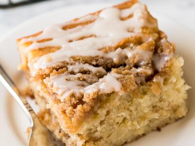 Banana Crumb Cake Recipe